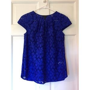 Royal Blue XSmall J. Crew Blouse